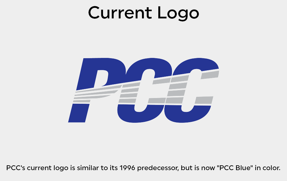 The PCC blue was introduced.